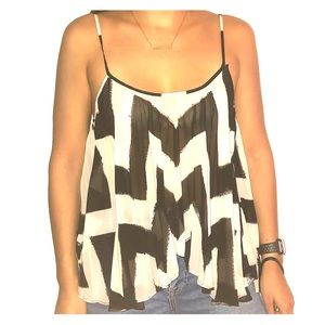 BCBG Light and Flowy Tank Top